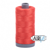 Aurifil 28 Cotton Thread - 2277 (Dark Orangey Coral)
